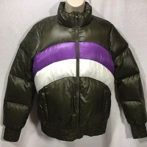 Salomon vintage Down filled women's Ski jacket